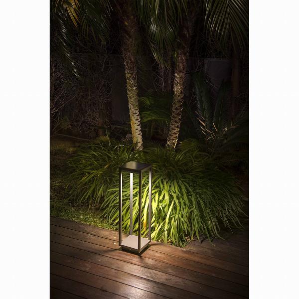 SAURA ソーラー LED Solar dark grey beacon lamp ソーラー充電式ライト